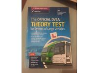 PCV/LGV Theory test book and CD