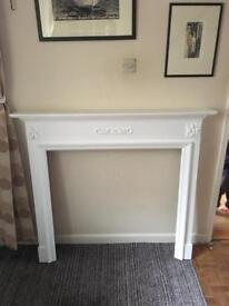 Shelf/ fireplace surround