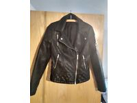 Faux leather jacket Miss Selfridge