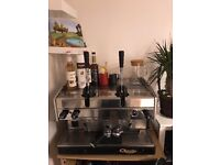 Astoria Lever Dual Fuel Coffee Machine