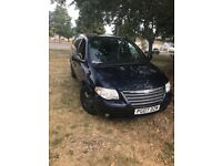 Chrysler Voyager 2007 Stow & Go Low Mileage 2.8 Diesel Auto Fully Loaded 7seater