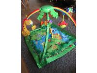 Perfect condition rainforest play mat