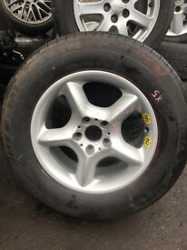 BMW X5 2008 17 INCH ALLOY WHEEL 235/65R17