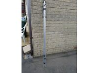 BEACH TRIPOD ROD REST BEACH ROD REST STAINLESS STEEL WITH SUPPORT LEGS - IAN GOLD SUPER MATCH REST