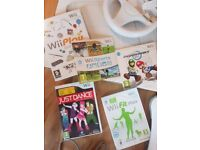 Wii Mario Kart and Wii Fit Plus