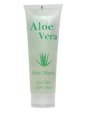 Aloe Vera Gel 100 % Feuchtigkeitspflege Gesicht Körper Sonnenbrand Pere Marve
