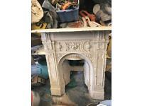 2 Cast Iron Fireplaces