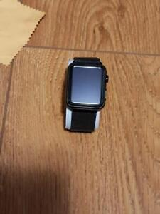 Stainless Steel Apple Watch 42 MM -Milanese band