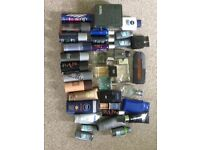 Men's aftershaves/deodorants