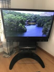 42 inch ; LG Television and stand