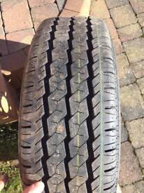 Vivaro van spare tyre