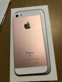 iPhone SE 64gb Rose gold Unlocked excellent condition