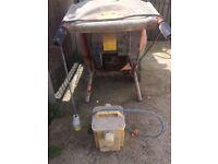 BELLE-MINIMIX 150 -110V cement mixer