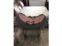 Claire de lune Noah pod and stand pink