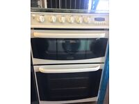 CANNON GAS COOKER 60cm WIDE DOUBLE OVEN WITH GAS GRILL FREE DELIVERY AND WARRANTY