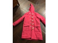 Girls Boden Duffle Coat
