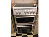 Hotpoint electric ceramic cooker for quick sale