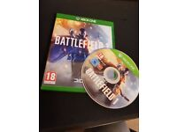 Battlefield 1 for Xbox one used but like new
