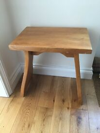 Pine table/ stool/ dressing table stool, shabby chic project