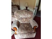Free 3 piece suite - old but in good condition. Must be able to collect