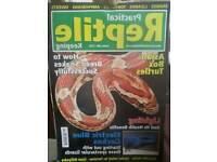 Job lot x 30+ reptile practical mags