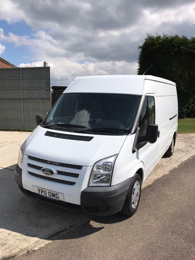 Transit 2011 LWB medium roof Air Con T300 115 ps