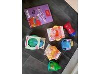 Baby weaning bowls and cups