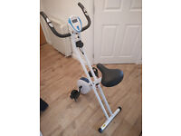 Davina Folding Magentic Exercise Bike for sale! - Collection Only