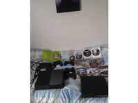 xbox one 500gb + ps3 320gb +games