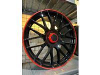 """19"""" alloy wheels alloys rims tyres fits Vw Volkswagen seat Skoda Audi Mercedes 5x112 a cla"""