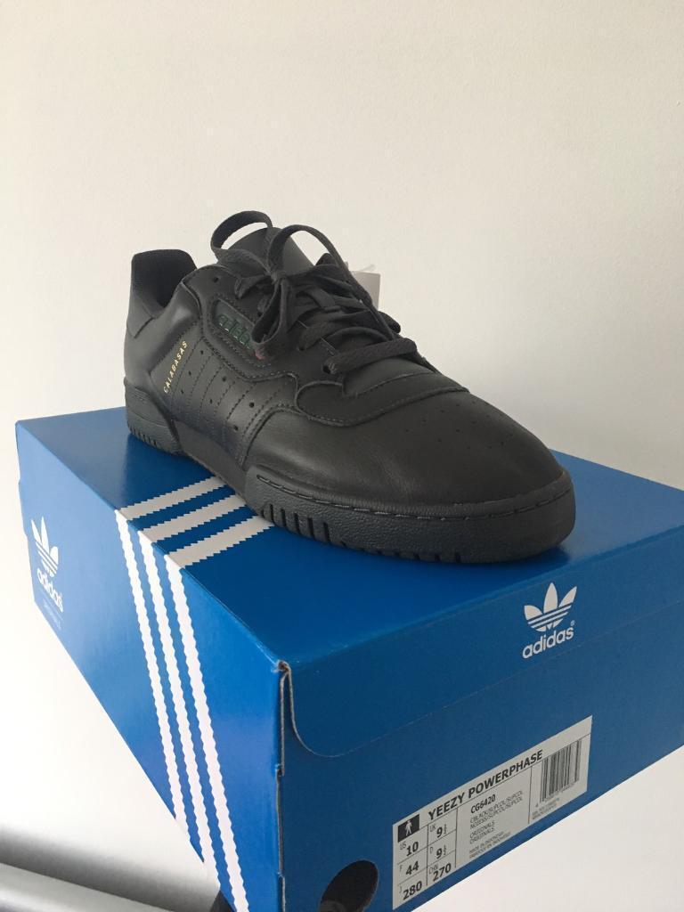 online retailer c5ee4 d508a Adidas Yeezy Powerphase Calabasas UK 9.5