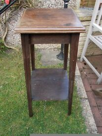 Antique Edwardian plant stand
