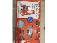 The Tiger Who Came Tea Book & Tea Set **NEW**