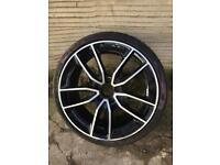 Mercedes a45 a35 2019 2020 2021 genuine 19 inch alloy wheel + tyre