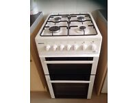 Cooker free gas installation from gas fitter and free delivery