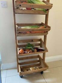 Fruit & vegetable trolley