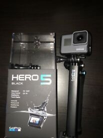 GoPro Hero 5 Black and accessories £270