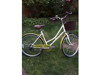Ladies Dawes Duchess Bicycle - Leaf Green/Cream