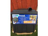 New Hozelock pond fish filter