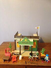 Playmobil sheriff/ cowboy set