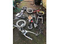 Pitbike parts job lot pit bike