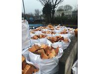 jumbo builders bag softwood firewood