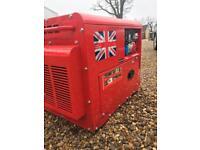 22.5 kva key start Perkins diesel generator