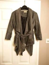 Grey Small Stylish Jacket, 'Crafted'