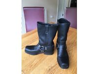 Double H Harness leather boots. Size 9 1/2 unworn