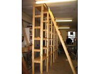 Bespoke shelving, wardrobes, bookcases, cupboards, cabinets, custom kitchen, doors, staircases