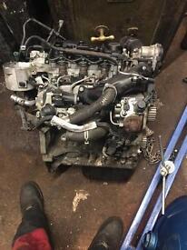 Breaking 1.4 turbo Diesel engine out of 62 plate fiesta