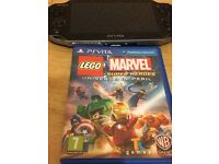 PS Vita with Lego Marvel Superheros and 3G WiFI version
