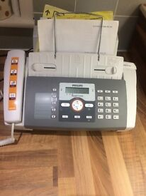 Philips faxjet 525 fax machine