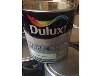 Dulux light and space paint - lowest price around job lots